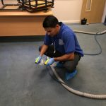 P&T Service Limited cleaners in action 23