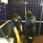 P&T Service Limited cleaners in action 4