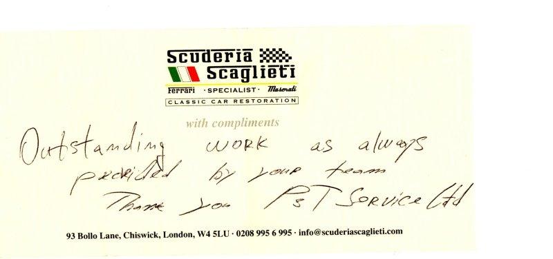Scuderia Scaglieti review