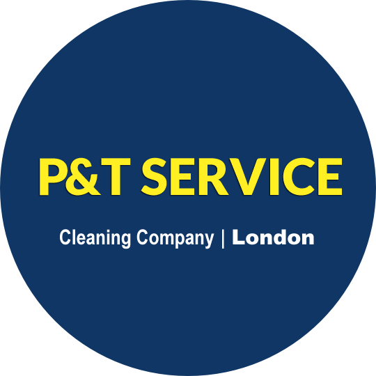 big blue logo of P&T Service Limited